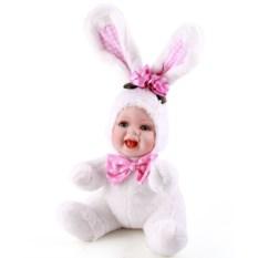 Декоративная интерьерная кукла Зайка (34 см)