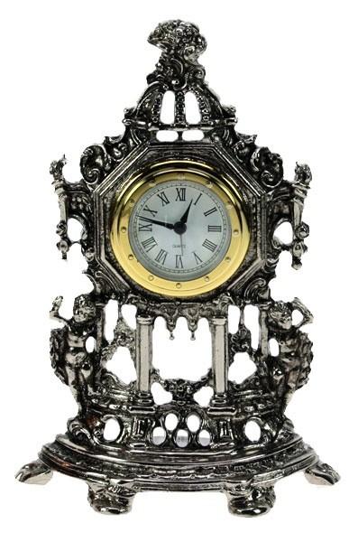 Часы каминные С ангелами