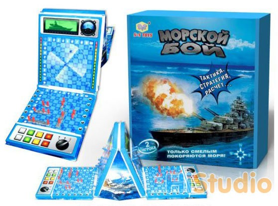 Настольная игра Морской бой (Tactic)