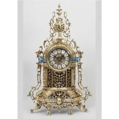 Часы из бронзы Барселона, цвет золотой