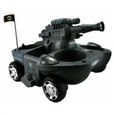 Радиоуправляемый танк-амфибия, стреляющий пульками