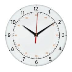 Настенные часы с разделениями на минуты