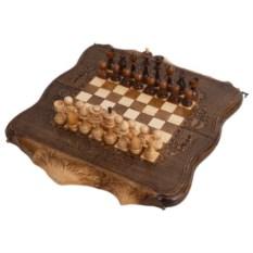 Резные шахматы и нарды Арарат от Ohanyan