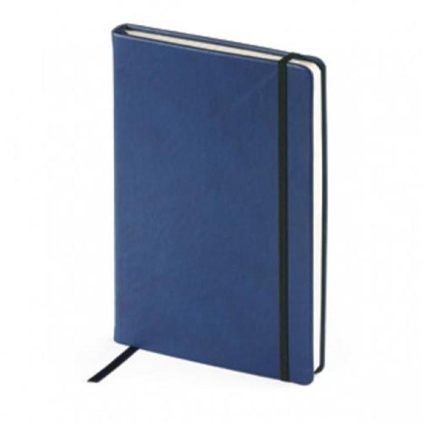 Темно-синий недатированный ежедневник Megapolis Velvet А5