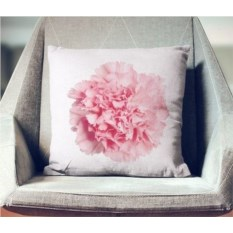Декоративная наволочка Розовая гвоздика