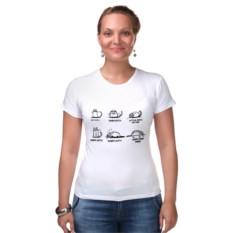 Женская футболка Песня шелдона про котенка