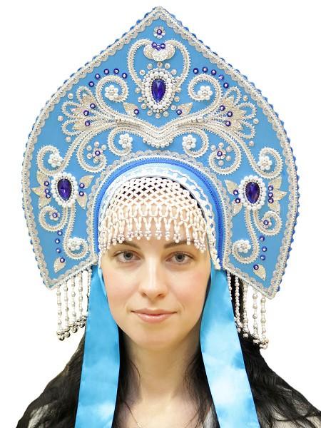 Голубой кокошник Купола