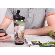 Термостакан «Постер 2» с вашим фото