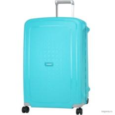Бирюзовый чемодан Samsonite s'cure