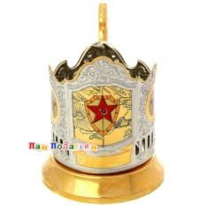 Подстаканник Вооруженные силы России (Кольчугино)