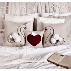 Подушка-карман Сердце
