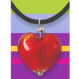 Кулон «Пурпурное сердце»