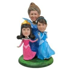Статуэтка жене по фото Моя сказочная семья