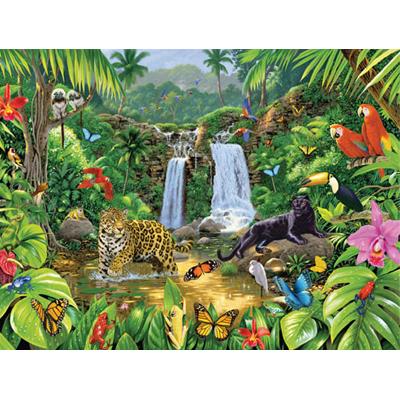 Пазл «В джунглях»