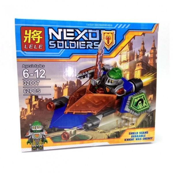 Конструктор Lele Nexo Soldiers (62 детали)