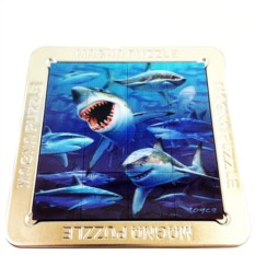 3D пазл «Акулы»