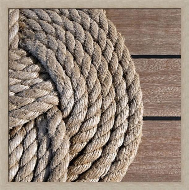 Постер Морские путешествия. Морской узел