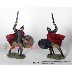 Оловянный солдатик Дружинник. Киевская Русь 10-11 век