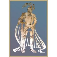 Картина с кристаллами Swarovski Рыцарь в доспехах