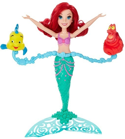 Игрушка-кукла плавающая в воде Ариэль