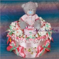 Подарочный набор с одеждой С рождением дочки!