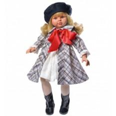 Кукла Пепа в пальто и берете
