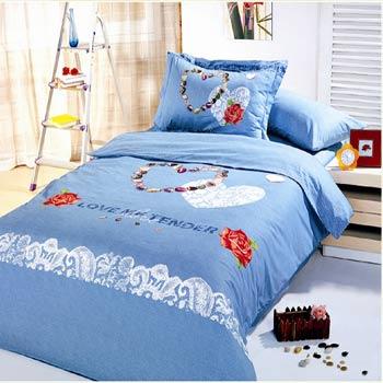 Комплект постельного белья NARIN BLUE Le Vele