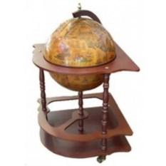 Напольный угловой глобус-бар