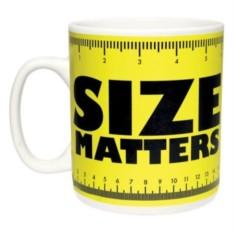 Гигантская кружка Размер имеет значение Size Matters