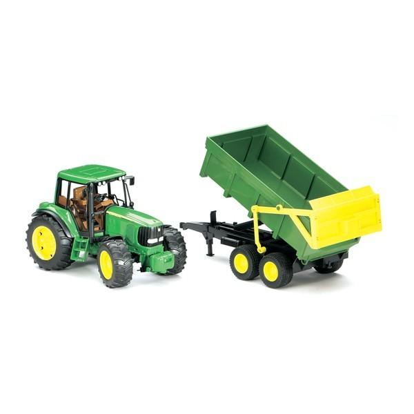 Игрушка Трактор с прицепом John Deere 6920