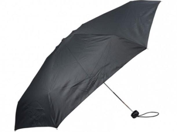 Складной механический зонт в чехле
