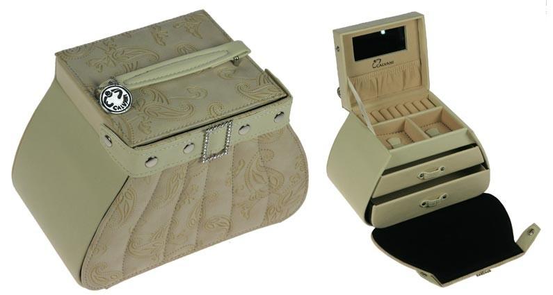 Шкатулка для ювелирных украшений Beige handbag