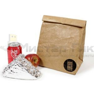 Бумажный пакет для обеда