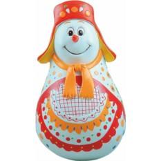 Новогодняя неваляшка Снеговик