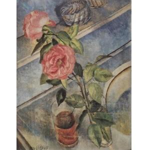 Репродукция картины Натюрморт с розами