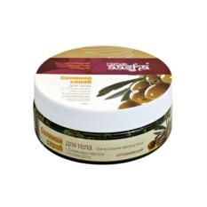 Скраб соляной для тела с оливковым маслом и кориандром