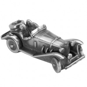 Скульптура-автомобиль Mercedes-Benz SSK Rudy