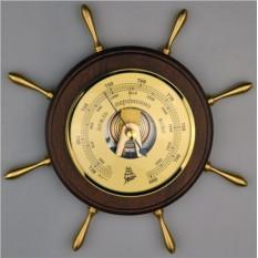 Барометр в виде морского штурвала