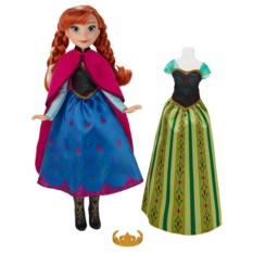 Кукла Disney Princess Холодное Сердце. Анна с нарядом