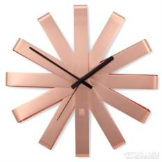Медные настенные часы Ribbon