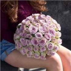 Букет из 51 розы сорта Кения