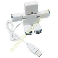 USB Hub на 4 порта Человечек трансформер