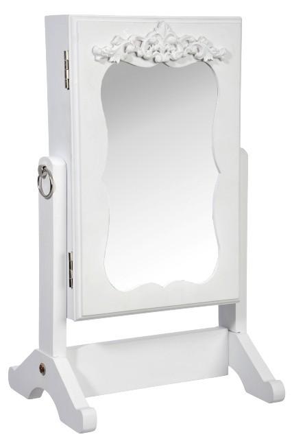 Шкафчик для украшений Белый Антик