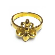 Кольцо Королевская лилия (золото, 585 проа)