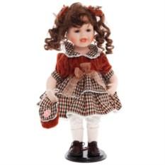 Фарфоровая коллекционная кукла Карина