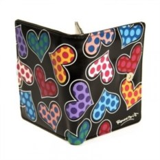 Маленький кошелек Britto, коллекция Heart Black