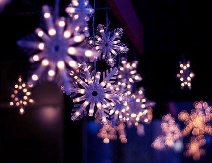 Светящаяся новогодняя игрушка Снежинка