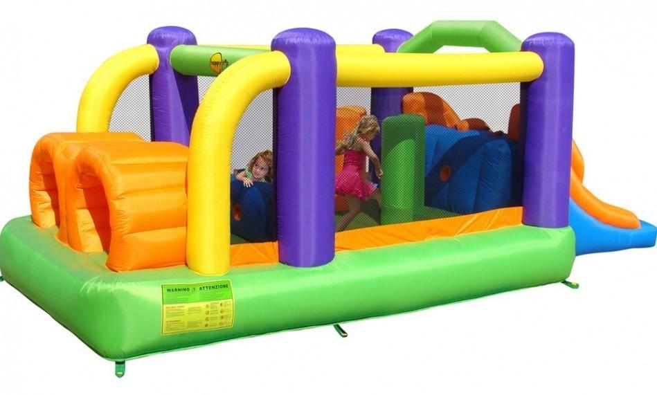 Детский надувной игровой центр Полоса препятствий