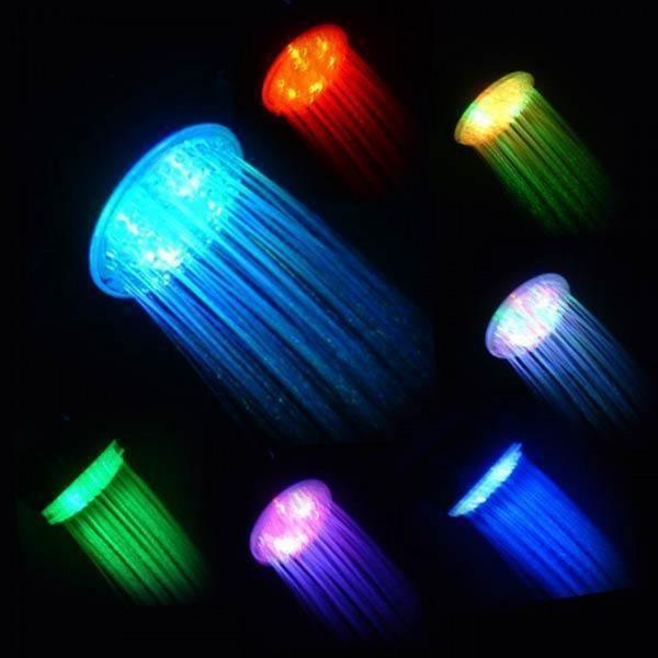 Насадка для душа с LED подсветкой