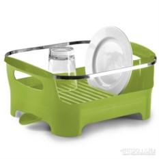 Зеленая сушилка для посуды Basin